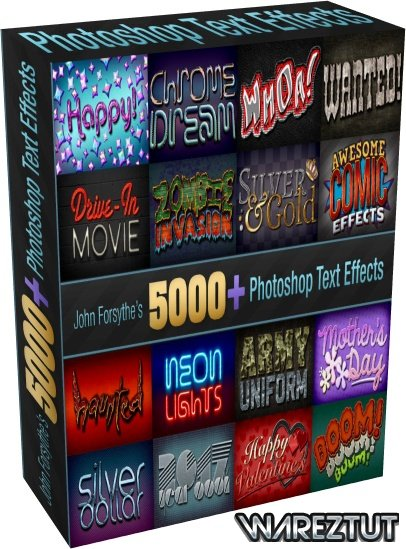 MightyDeals - 5,000+ Professional Text Effects from John Forsythe